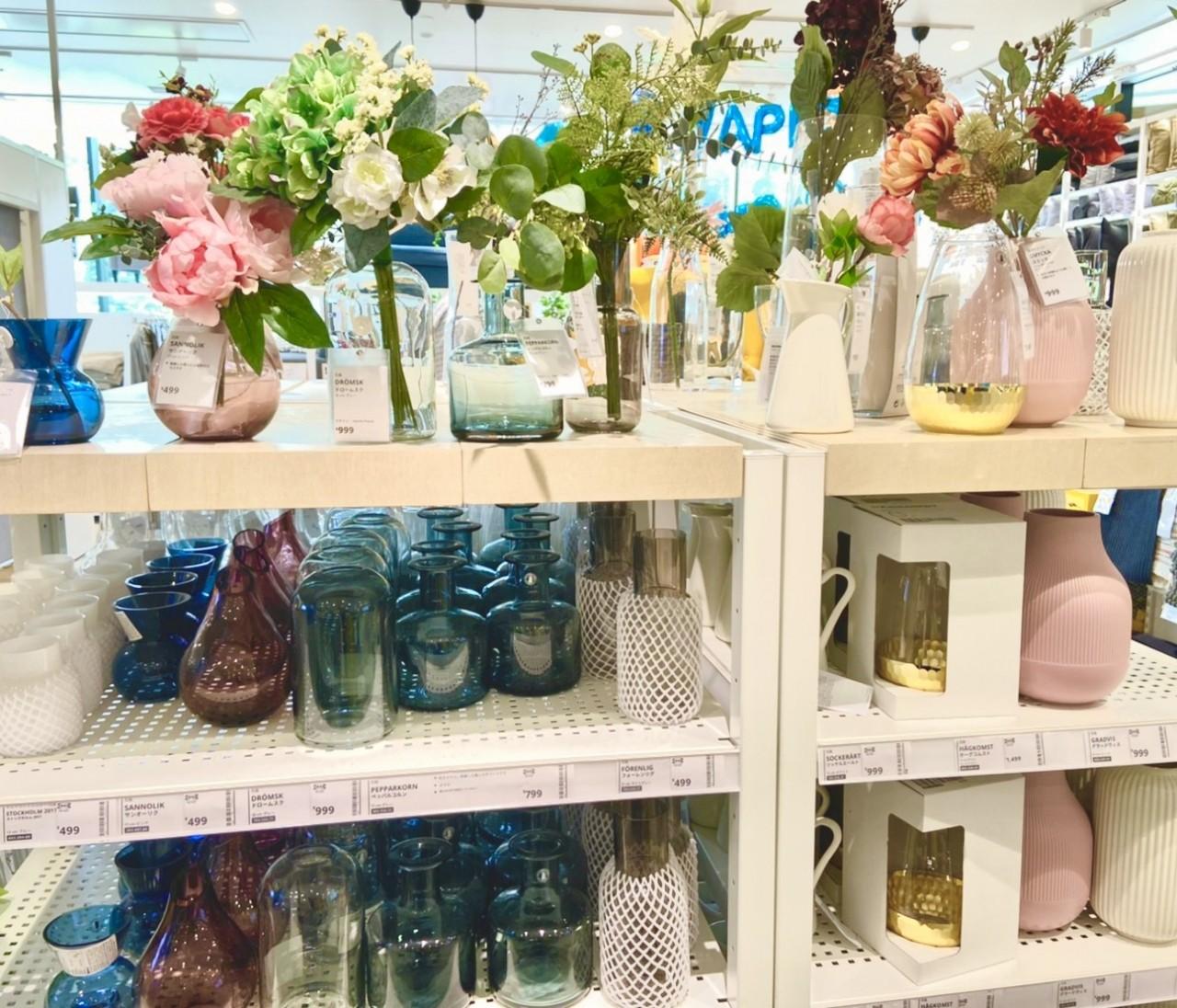 おうち時間はIKEAで充実!かわいいプチプラ花瓶が見つかります♡