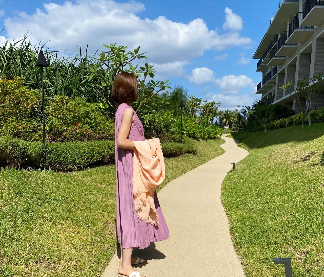 【沖縄旅行記③】10月の沖縄、旅コーデ全部見せ♡