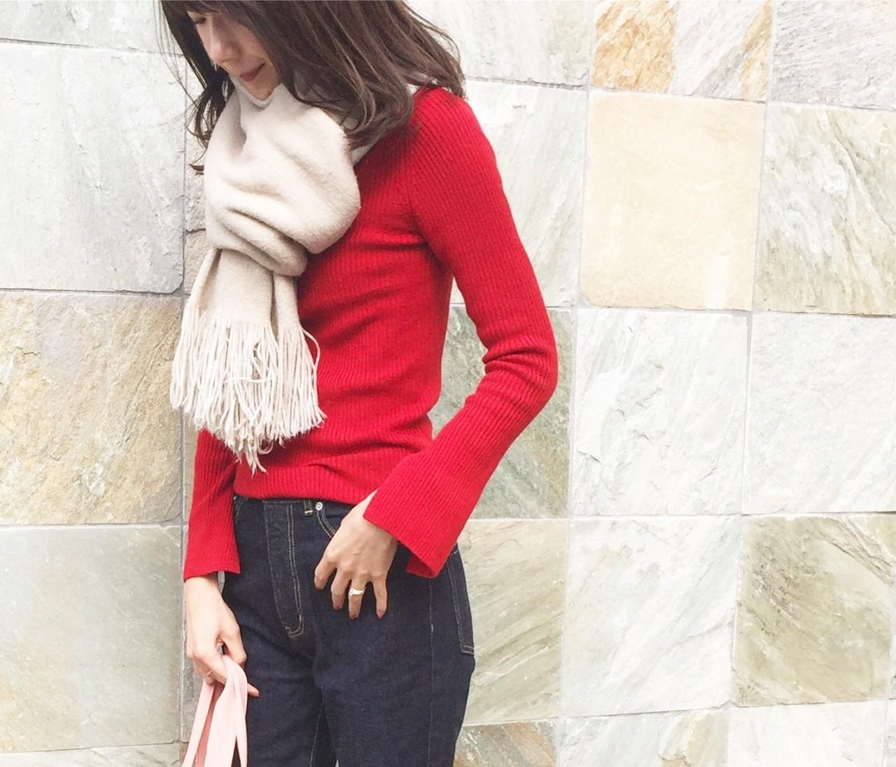 〝赤〟を大人可愛く着るマイルール