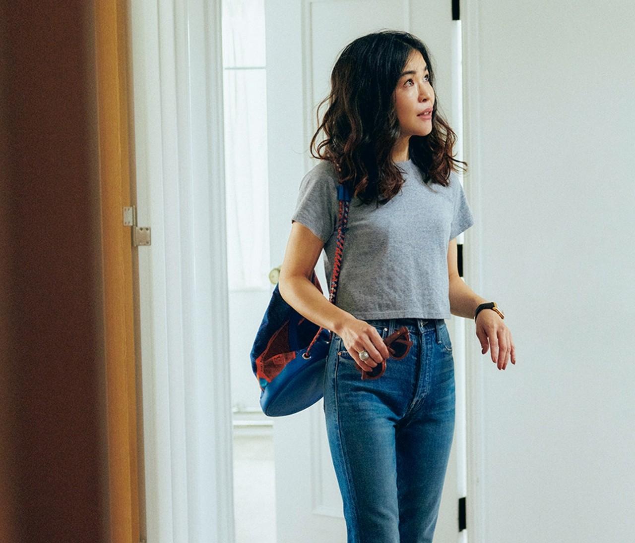 スタイリスト辻直子さんのおうち時間ファッション
