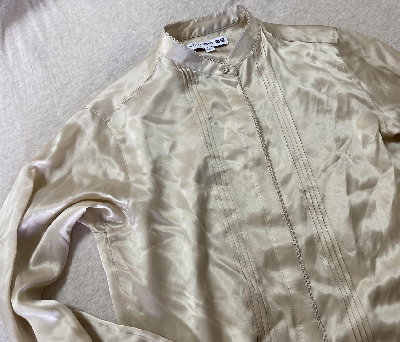 【UNIQLO】100%シルクシャツが7000円で買える⁉