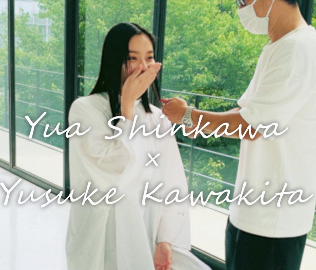 新川優愛の12年越しのロングヘアを、ヘア&メイクの河北裕介さんが25cmカット!BAILA限定・髪型チェンジを動画でお届け!