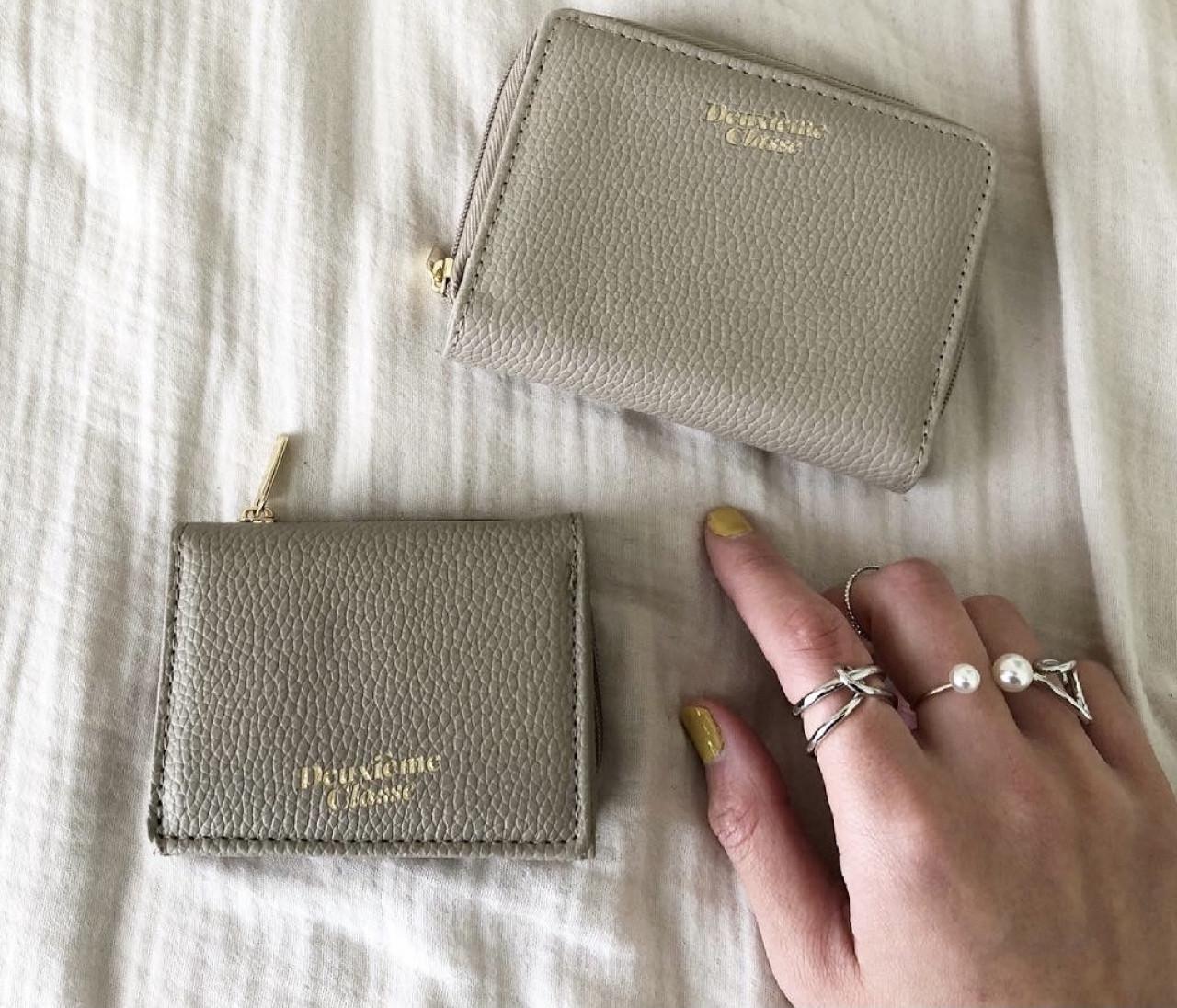 4月号付録!進化したDeuxieme Classeのミニ財布