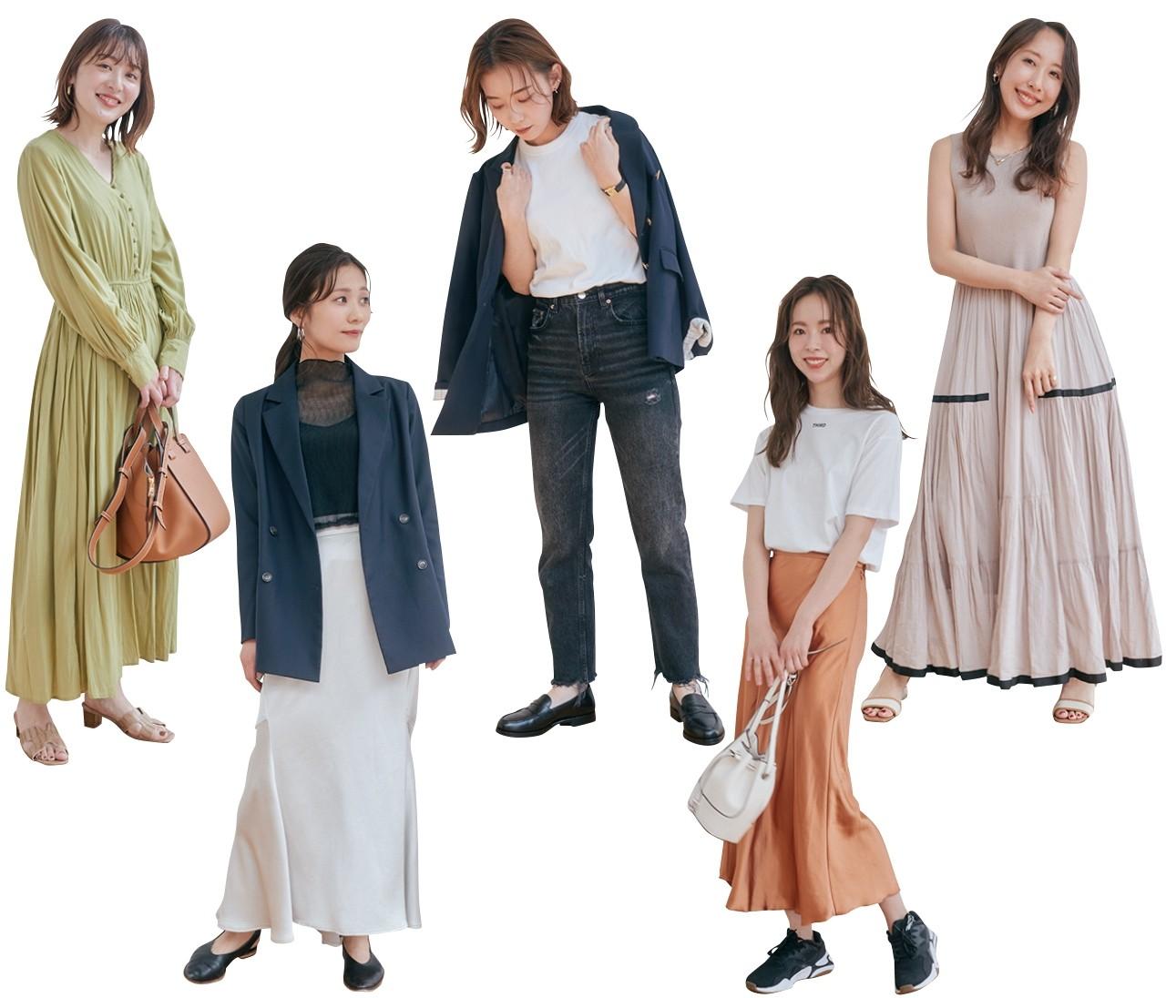 【Tシャツ診断】5タイプ別・この夏、あなたに似合う「進化系Tシャツ」をスタイリストがお見立て!