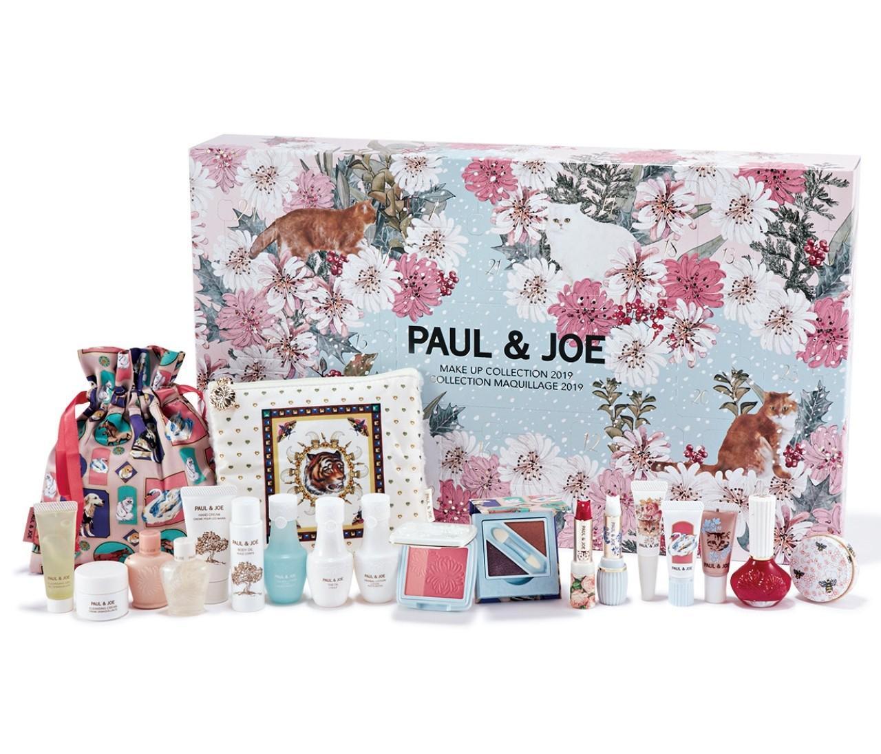 【クリスマスコフレ】ポール & ジョー ボーテの今年のアドベントカレンダーは超豪華!