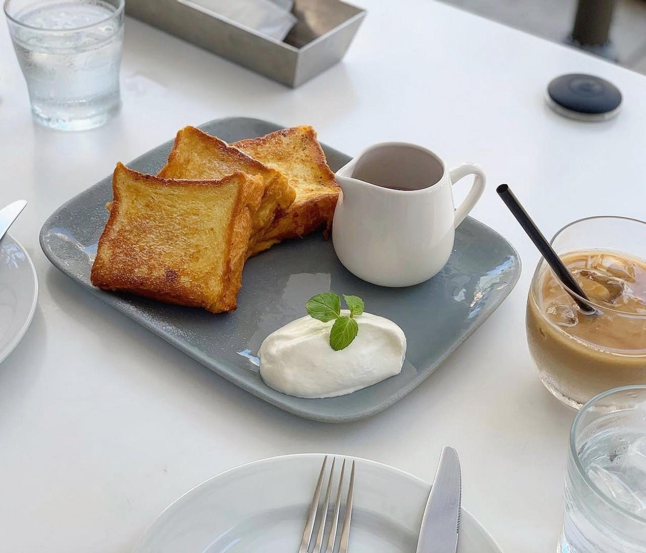 【銀座ブランチ】素朴ですごいフレンチトースト