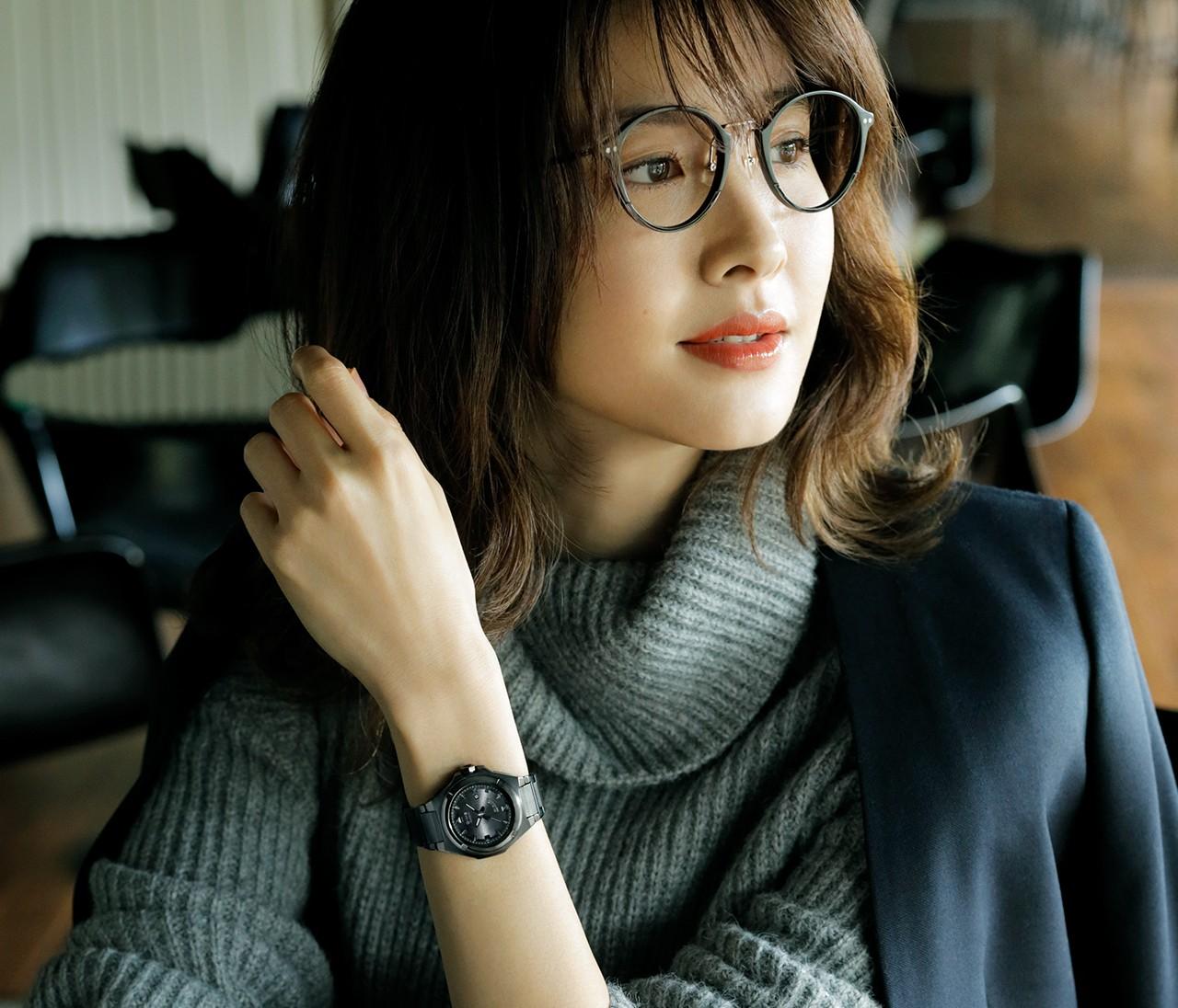 素敵な女性の相棒時計は「G-MS」