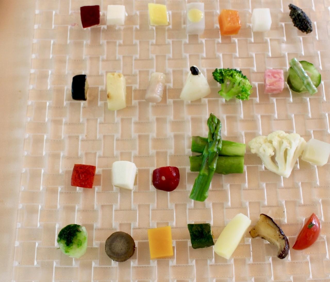 【特別な日に】目も舌も楽しめる♪無農薬野菜のカラフルプレート
