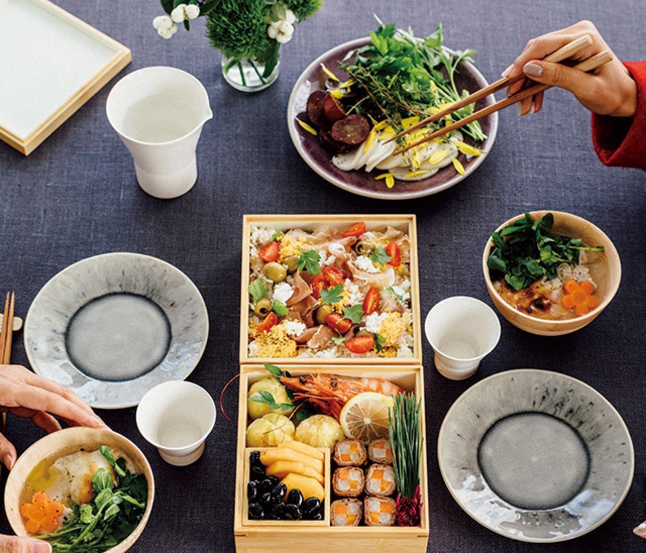 お手軽&見栄え抜群「おせち」で新年会!【カトパンの週末ふるまいごはん】