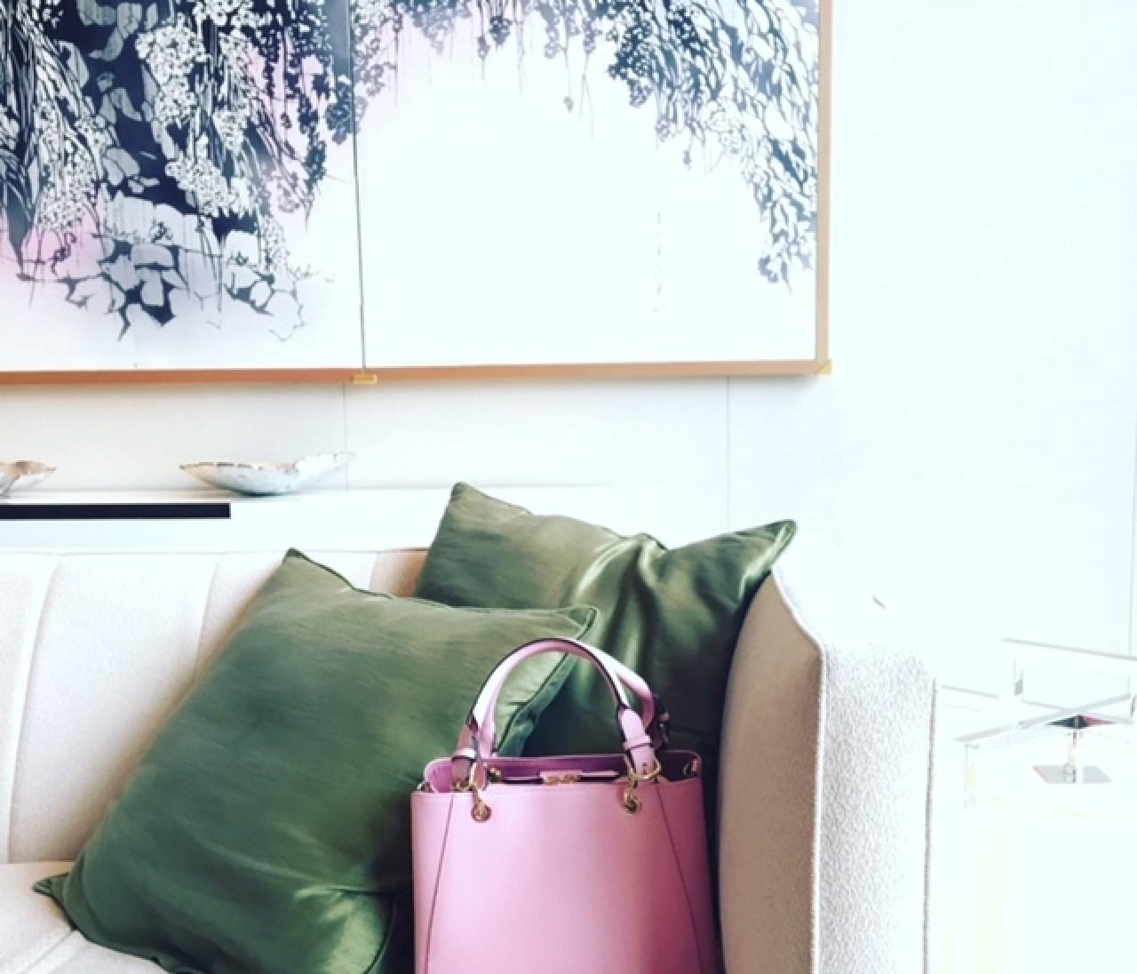 """【数量限定】春色バッグのイチオシはこの""""さくらピンク""""。 伊勢丹新宿店にいますぐGO!"""
