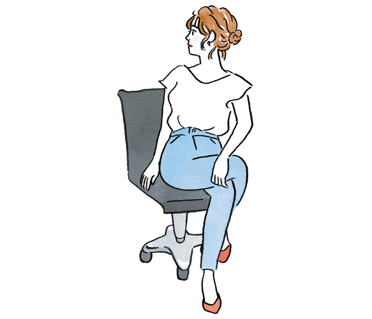 【デブ腸からやせ腸になる方法2】座りっぱなしはデブ腸まっしぐら。デスクワークの合間にもできる、やせ腸生活習慣3選!