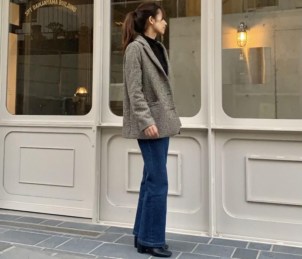 韓国通販サイト【Laurenhi】の真冬でも着れるジャケット!