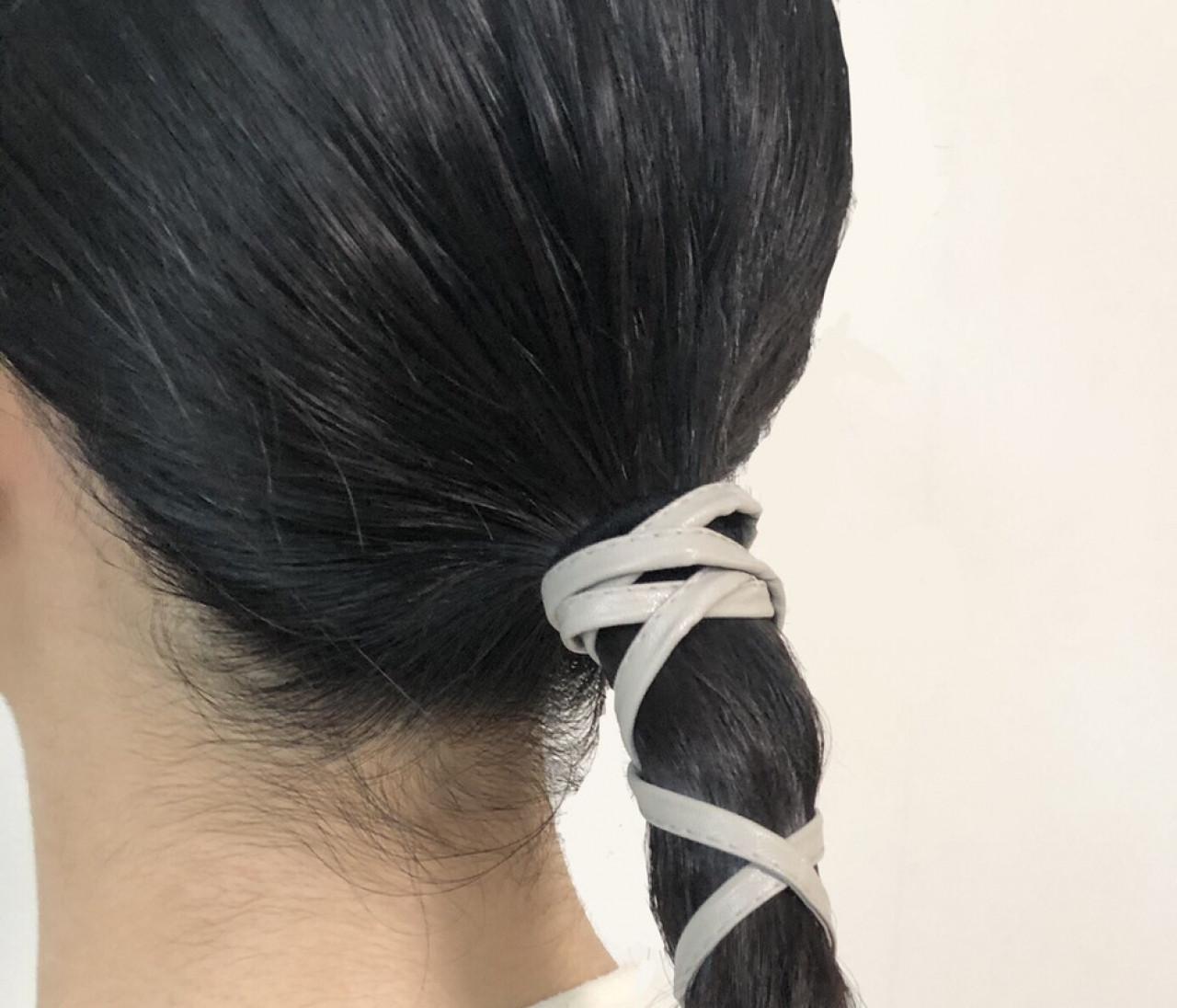 【セリア】梅雨の季節に!ひとつ結びが華やぐヘアアクセサリー3選