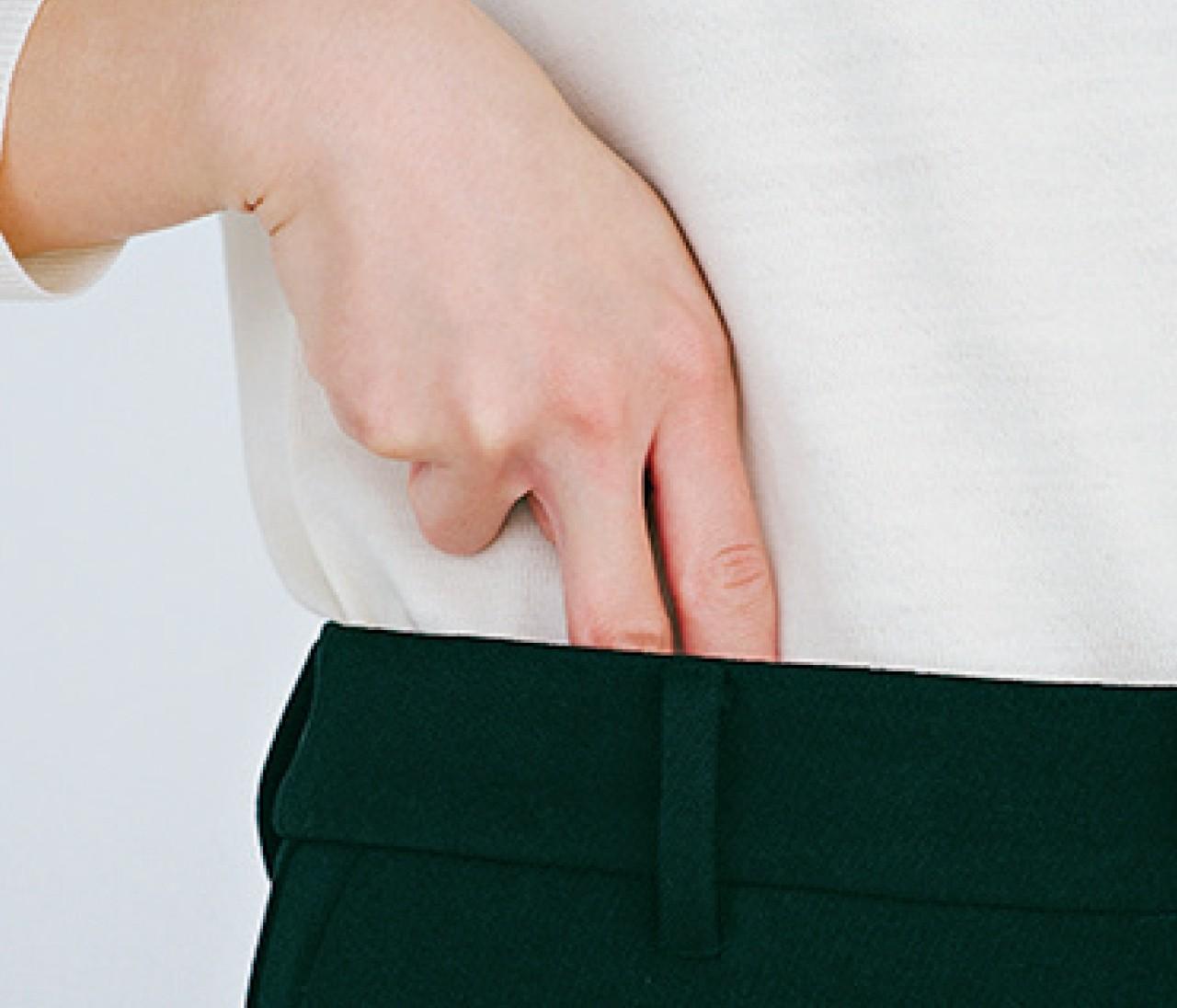 【整形級パンツ】試着室でチェックするべき5つのポイント