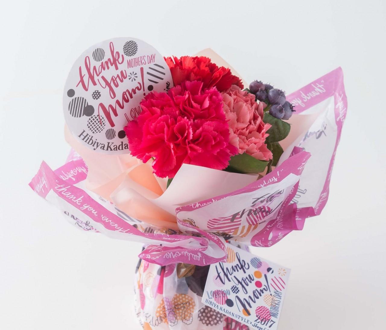 【母の日】SHOGO SEKINE×日比谷花壇のとっておきフラワーギフトを贈ろう!