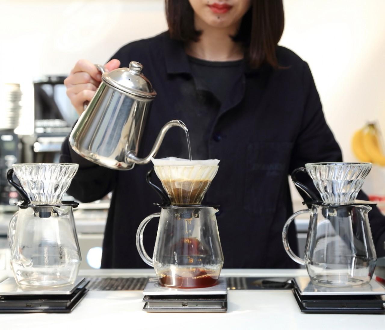 これがコーヒー?な味わいに驚き!北浜の新しいカフェ③【関西のイケスポ】