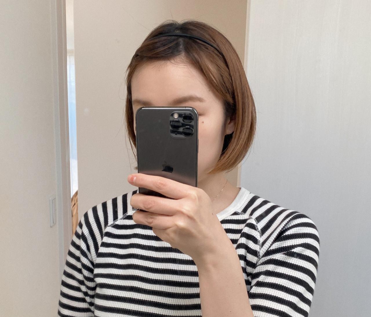 \セリア購入品/たった110円で最近流行りのヘアスタイルに!