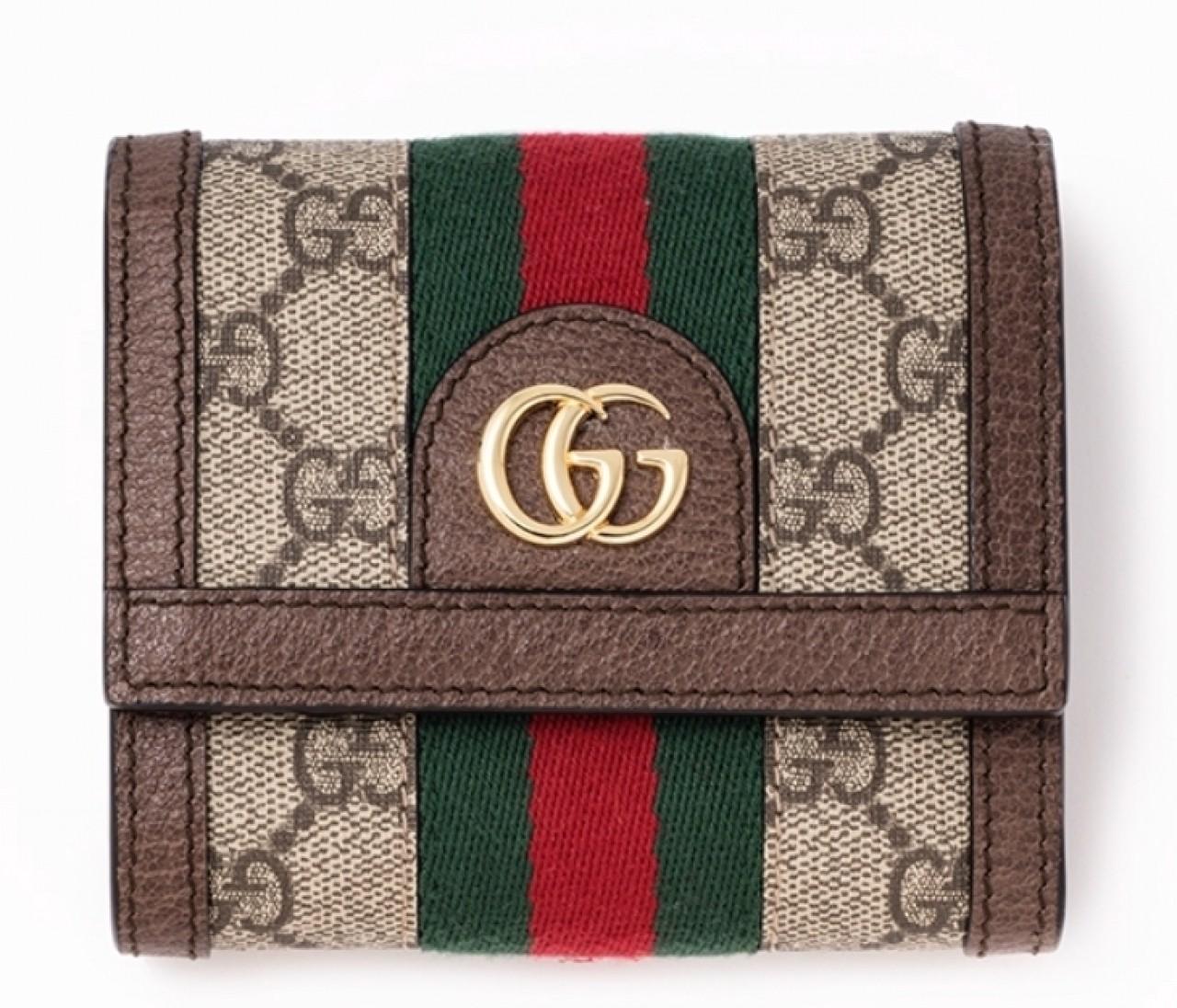 【グッチの財布まとめ】フローラプリントもGGパターンも!気分が上がるグッチの財布