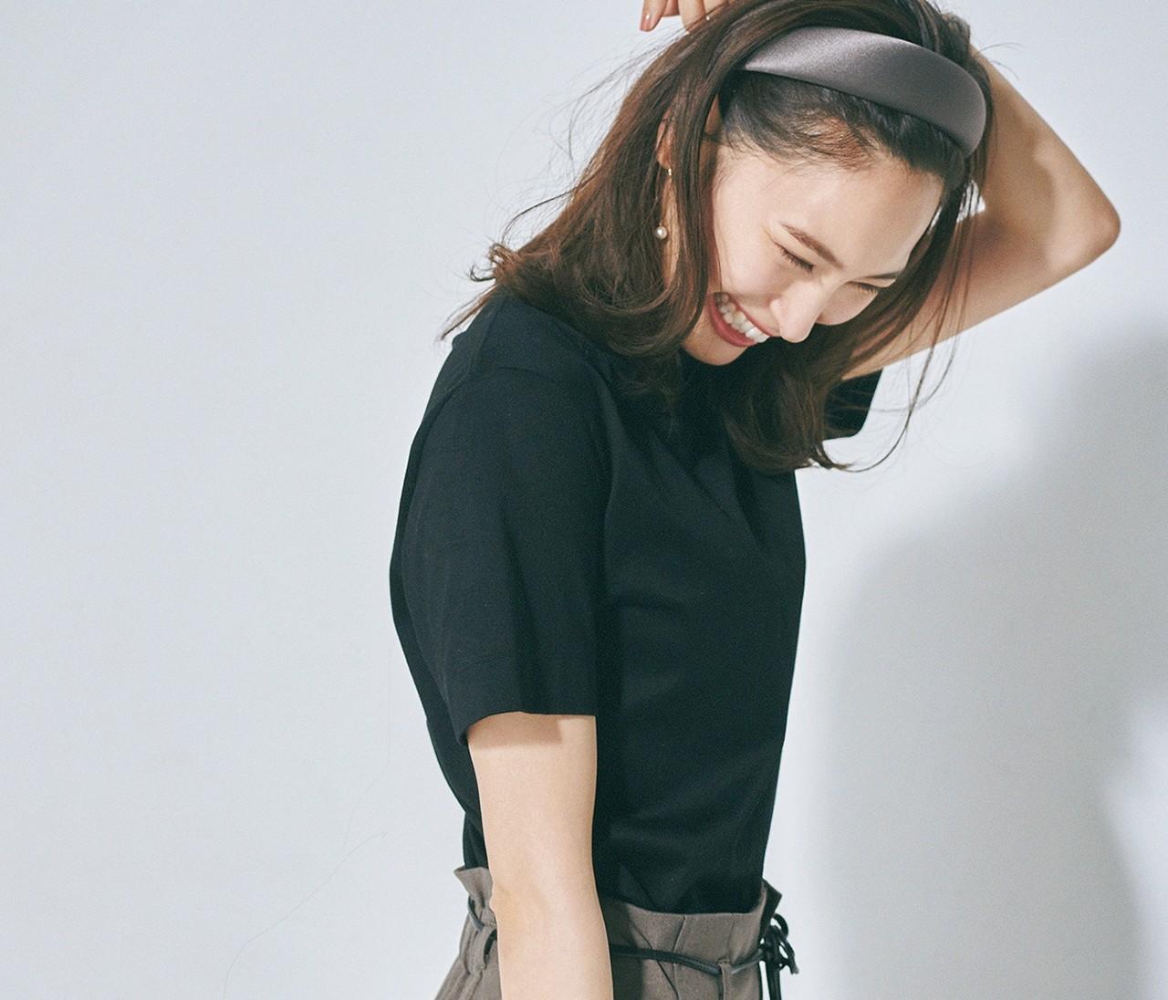 【大人の黒Tシャツ】今から秋まで9通りの着回し実例をチェック!