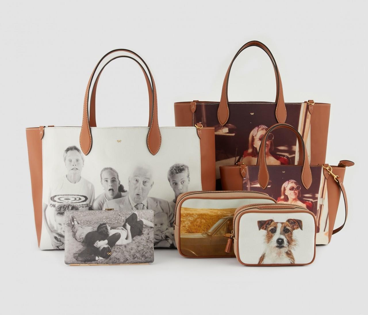 アニヤ・ハインドマーチ伝説の大ヒットバッグ「Be A Bag」が復活!お気に入りの写真をバッグにプリントしてカスタマイズ
