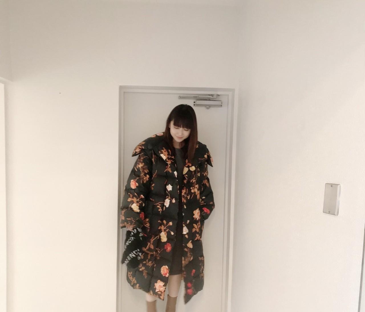 ユウコ、マルジェラで福岡に立つ。