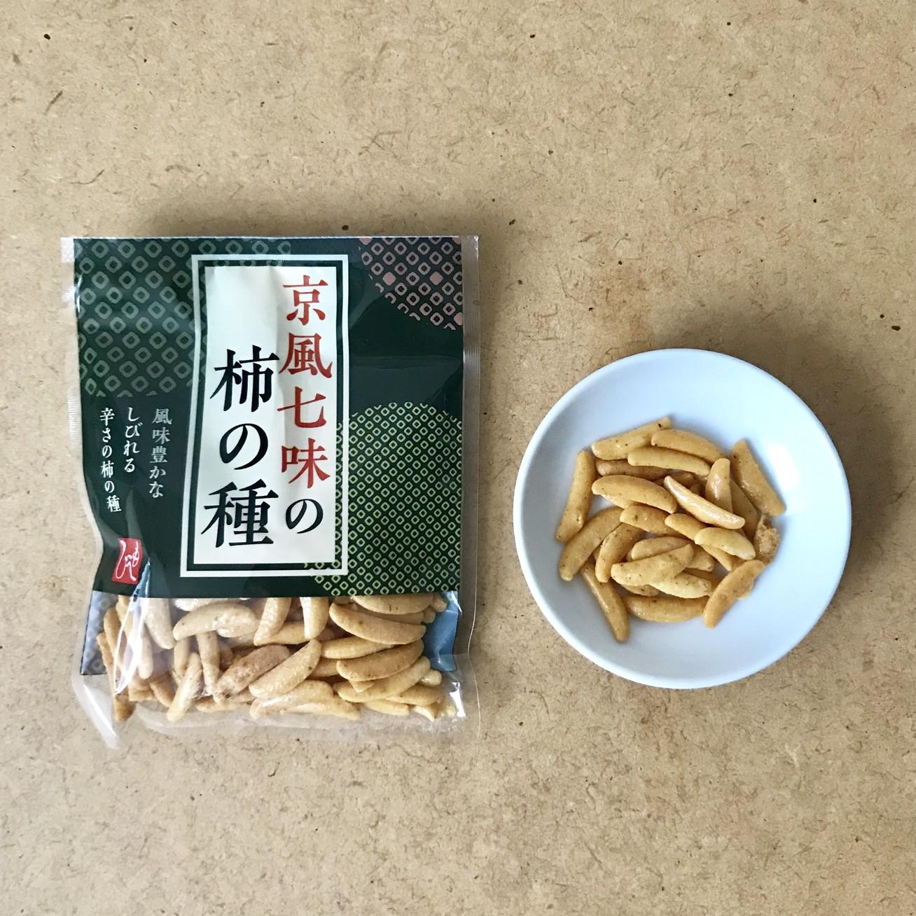 京風七味の柿の種¥149/カルディ コーヒーファーム