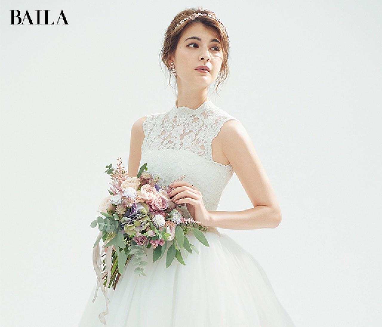 ロマンチックなプリンセスドレスに、乙女心くすぐる【ピンクの小物】をオン!