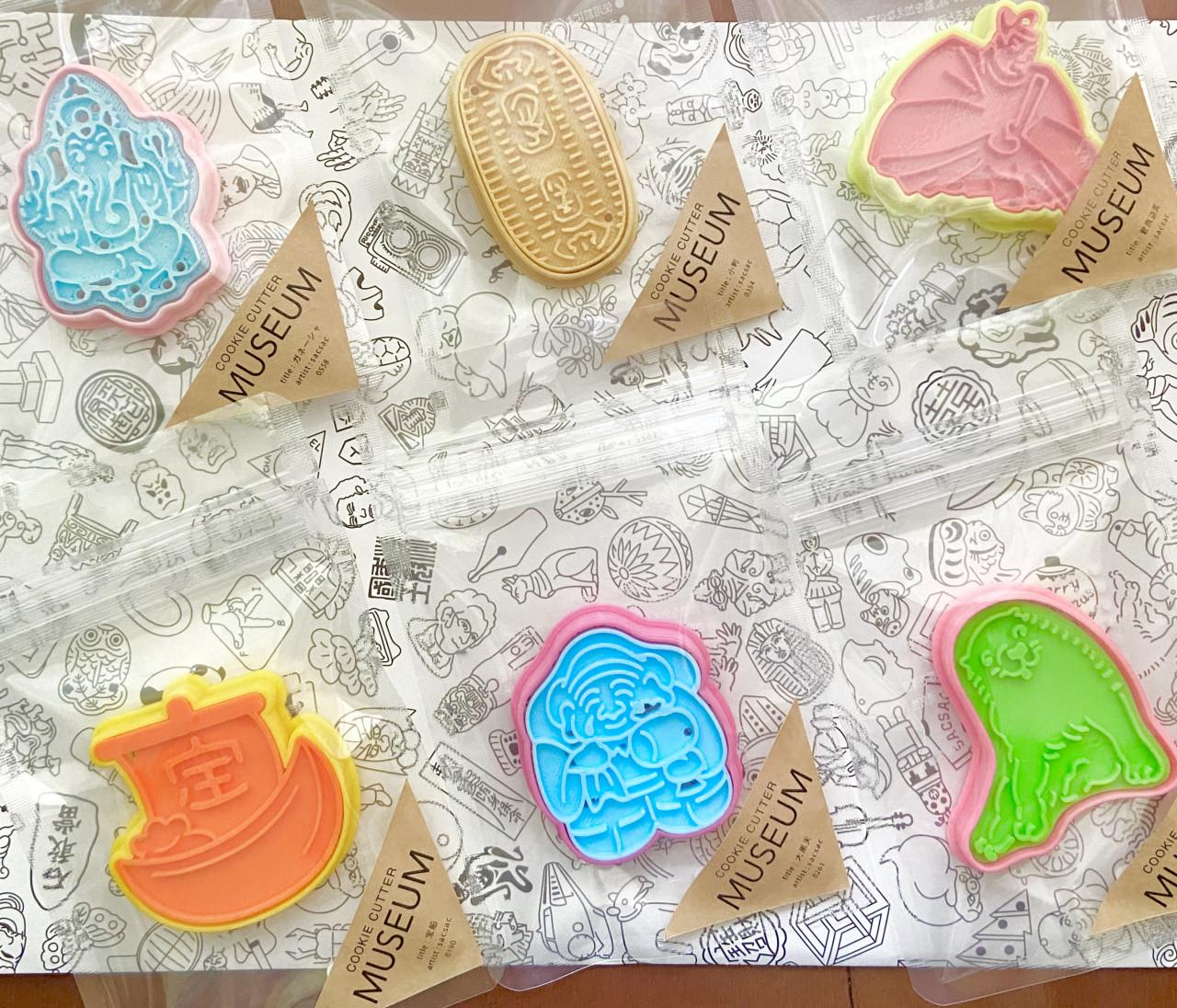 【おうち時間を楽しもう!】個性的なクッキー型でほっこりしない?食べて満足、見て満足な美味しいお菓子をどうぞ!