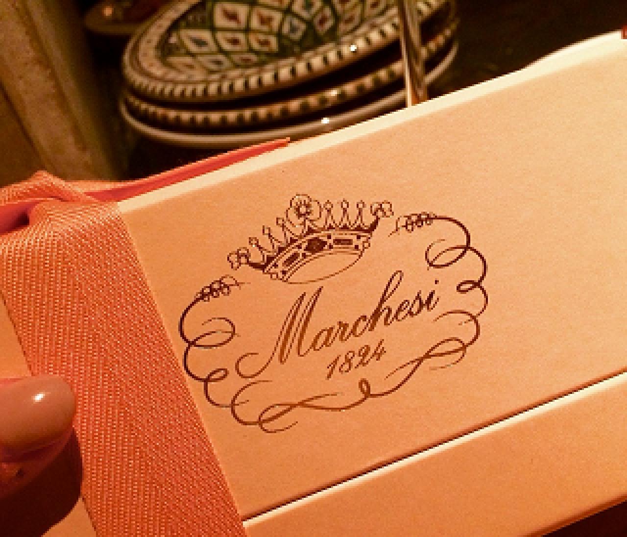 ミラノの老舗洋菓子店「マルケージ」のチョコレートが可愛すぎて美味し過ぎて…❤
