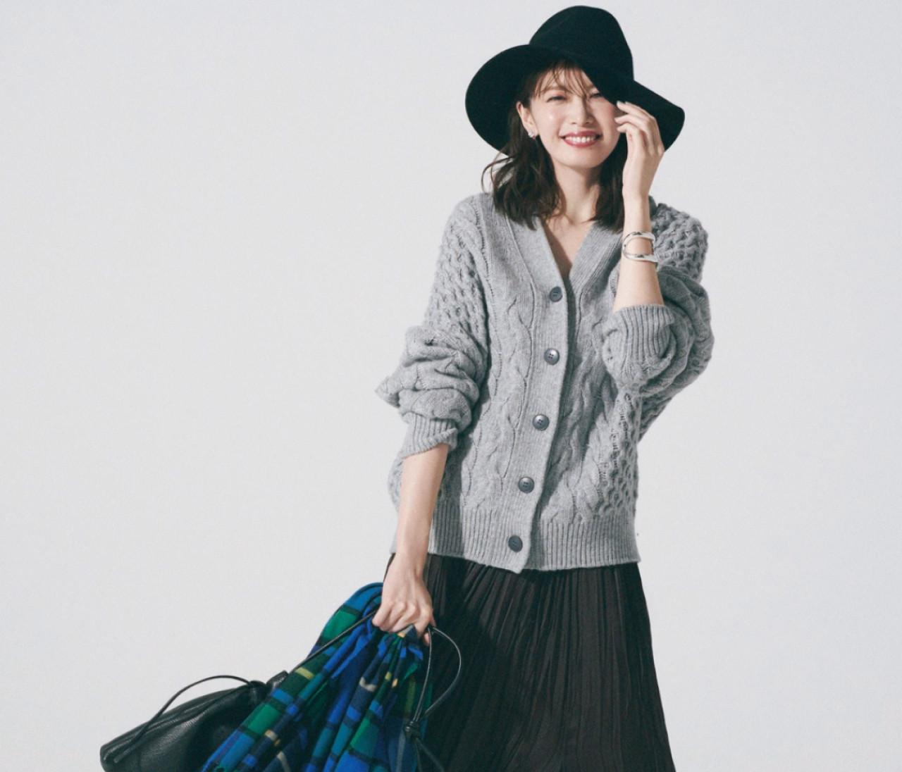 木曜日は、旬スカートで魅せる大人なマニッシュスタイル!【30代今日のコーデ】