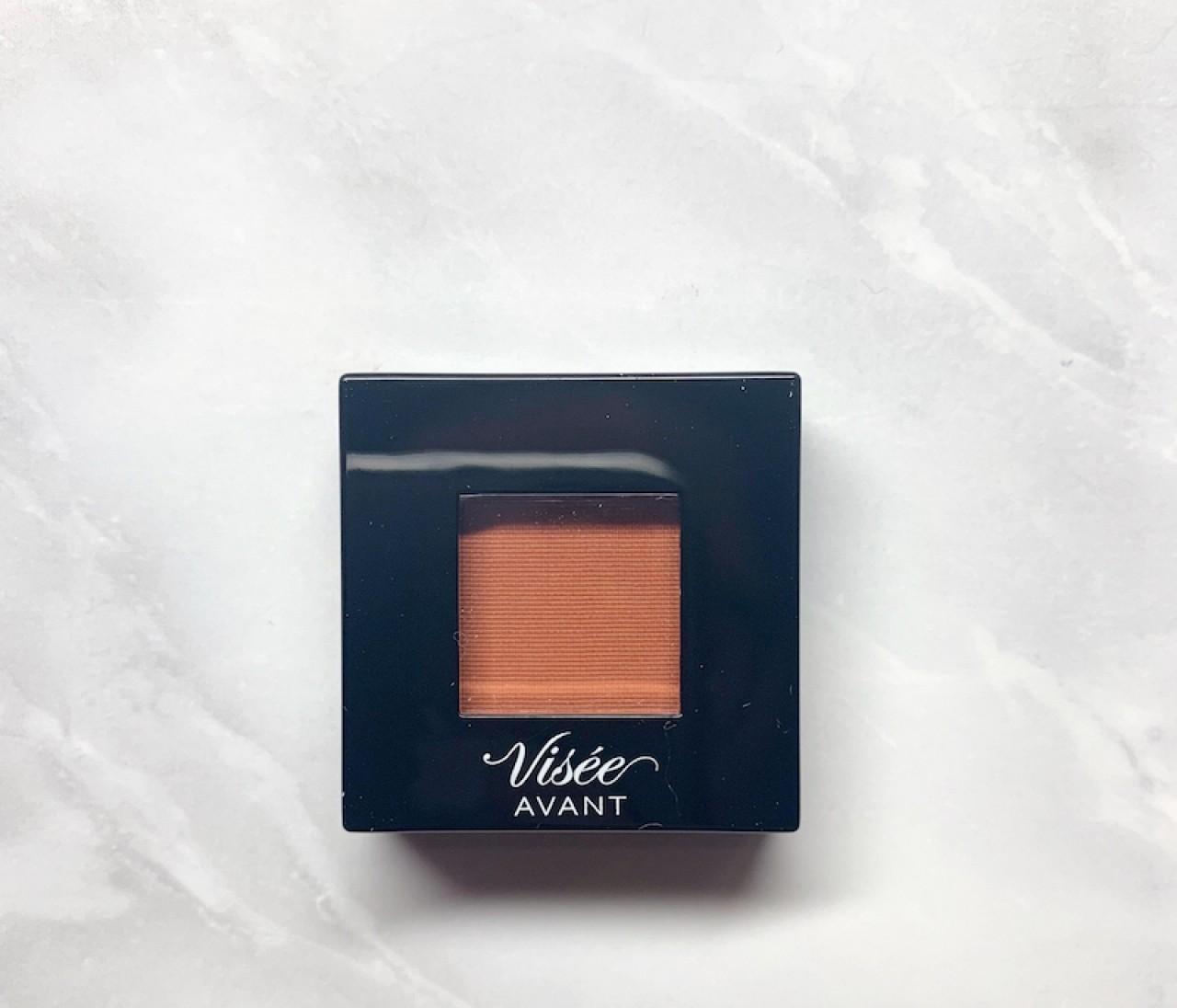 【800円アイシャドウ】ヴィセ アヴァン シングルアイカラーのパプリカオレンジで作る、ニュアンスアイ