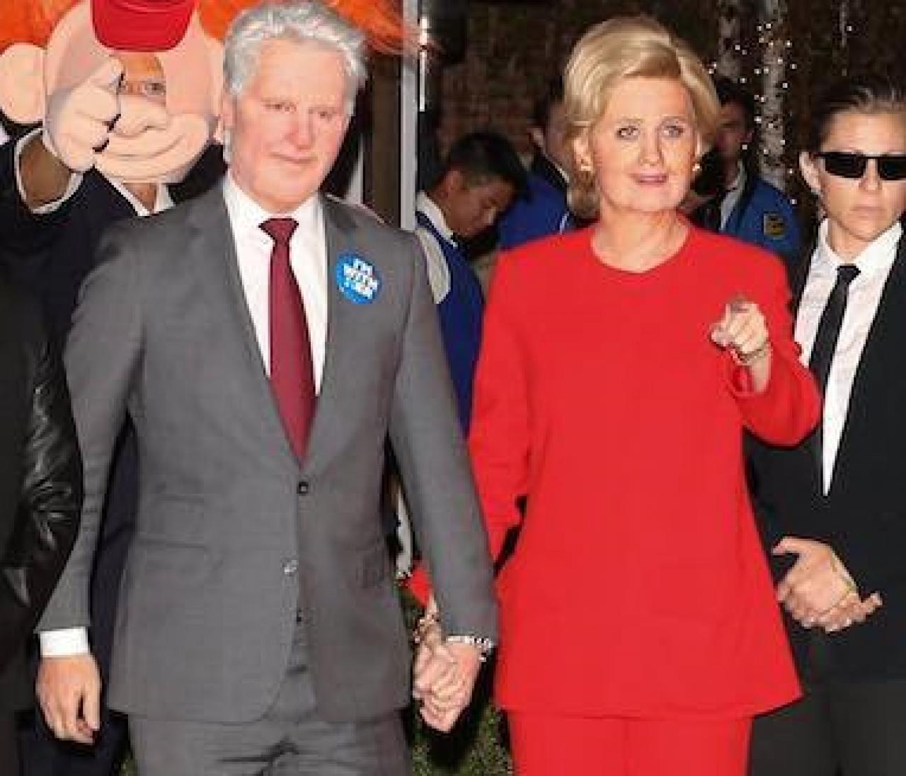 ケイティ&オーランドの政治ネタがベスト!セレブのハロウィン仮装集(1)