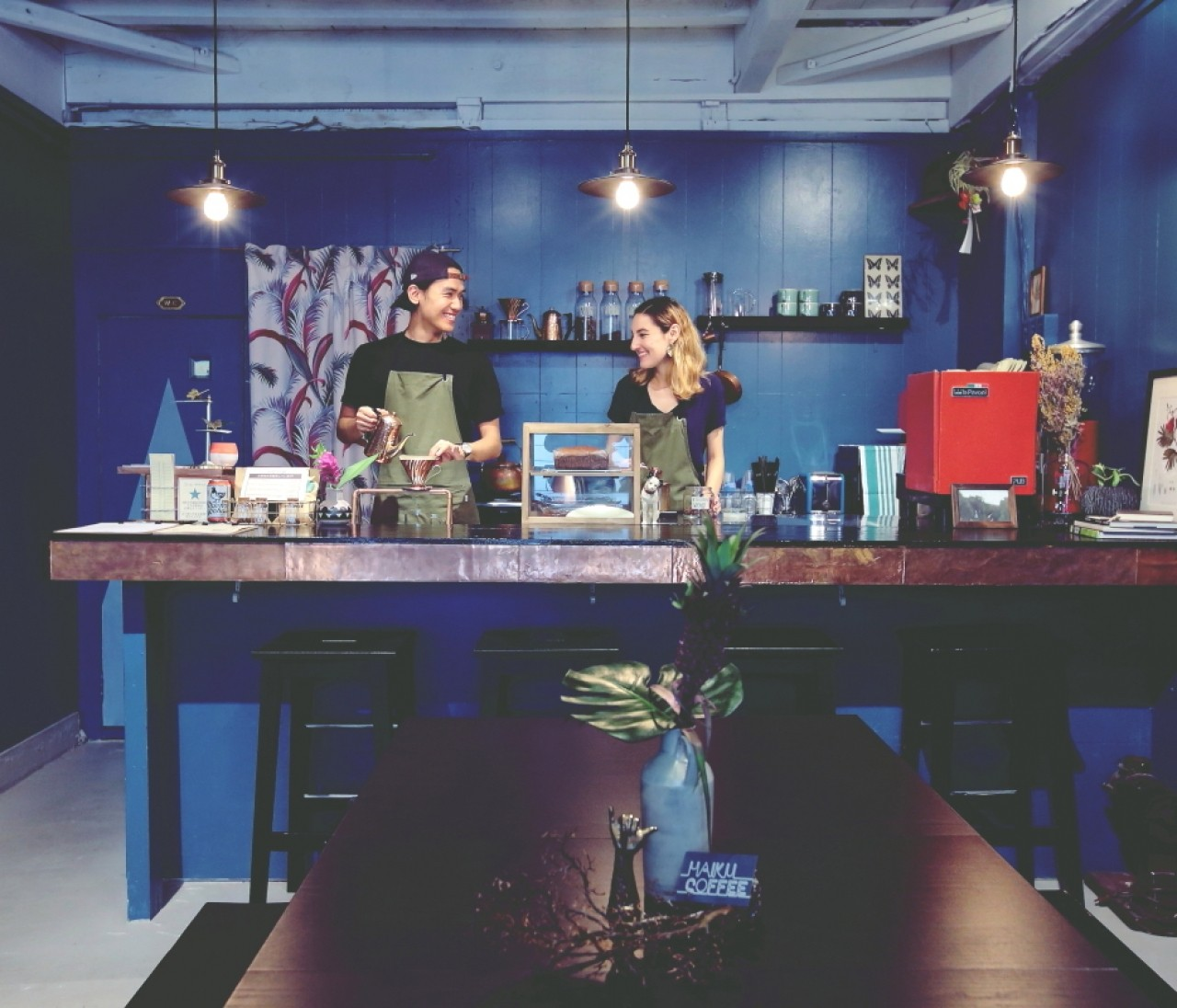 仲良し夫婦のコーヒースタンド。散策が楽しい街・中崎町②【関西のイケスポ】