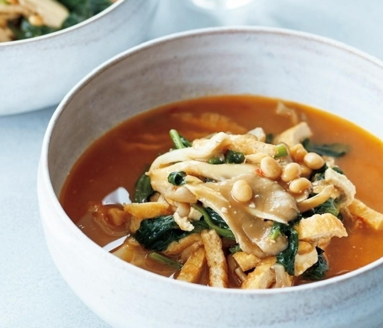 【新刊発売記念】 Atsushiさんのむくみに効く「納豆のスパイシー味噌スープ」レシピ特別公開