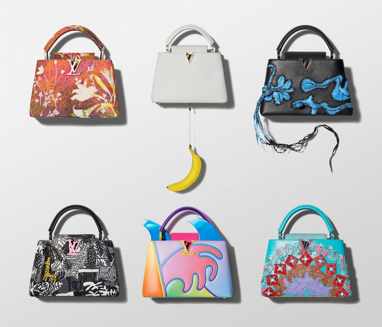 人気バッグがコラボ【ルイ・ヴィトン(LOUIS VUITTON)】カプシーヌと6人のアーティストたち