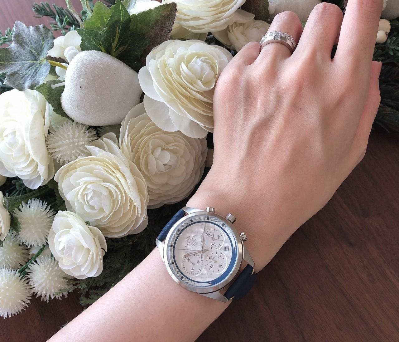 ちょっと無骨、だけどスタイリッシュな時計でコーデを格上げ♡