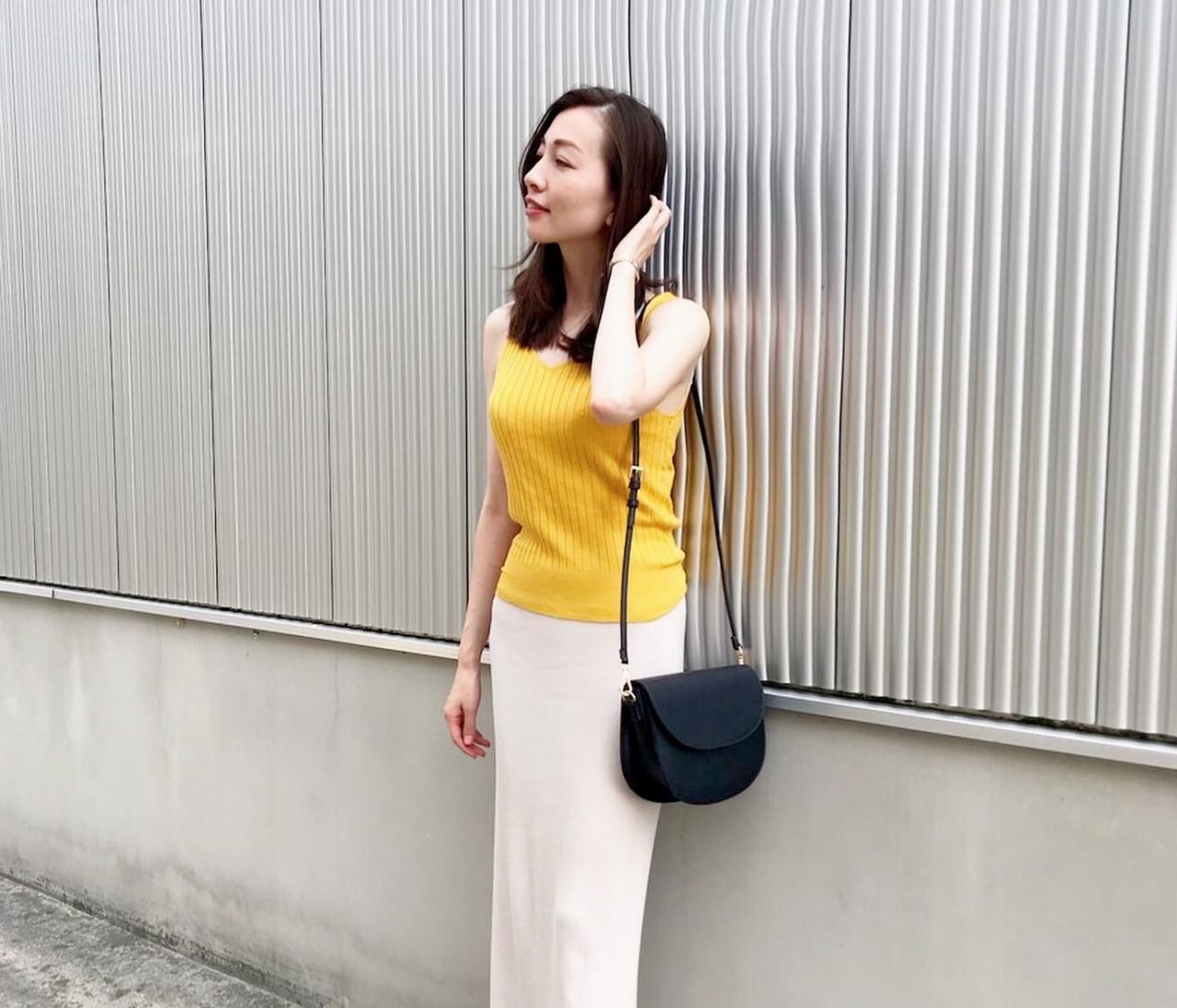 【着回し】夏のニットタイトスカートコーデ