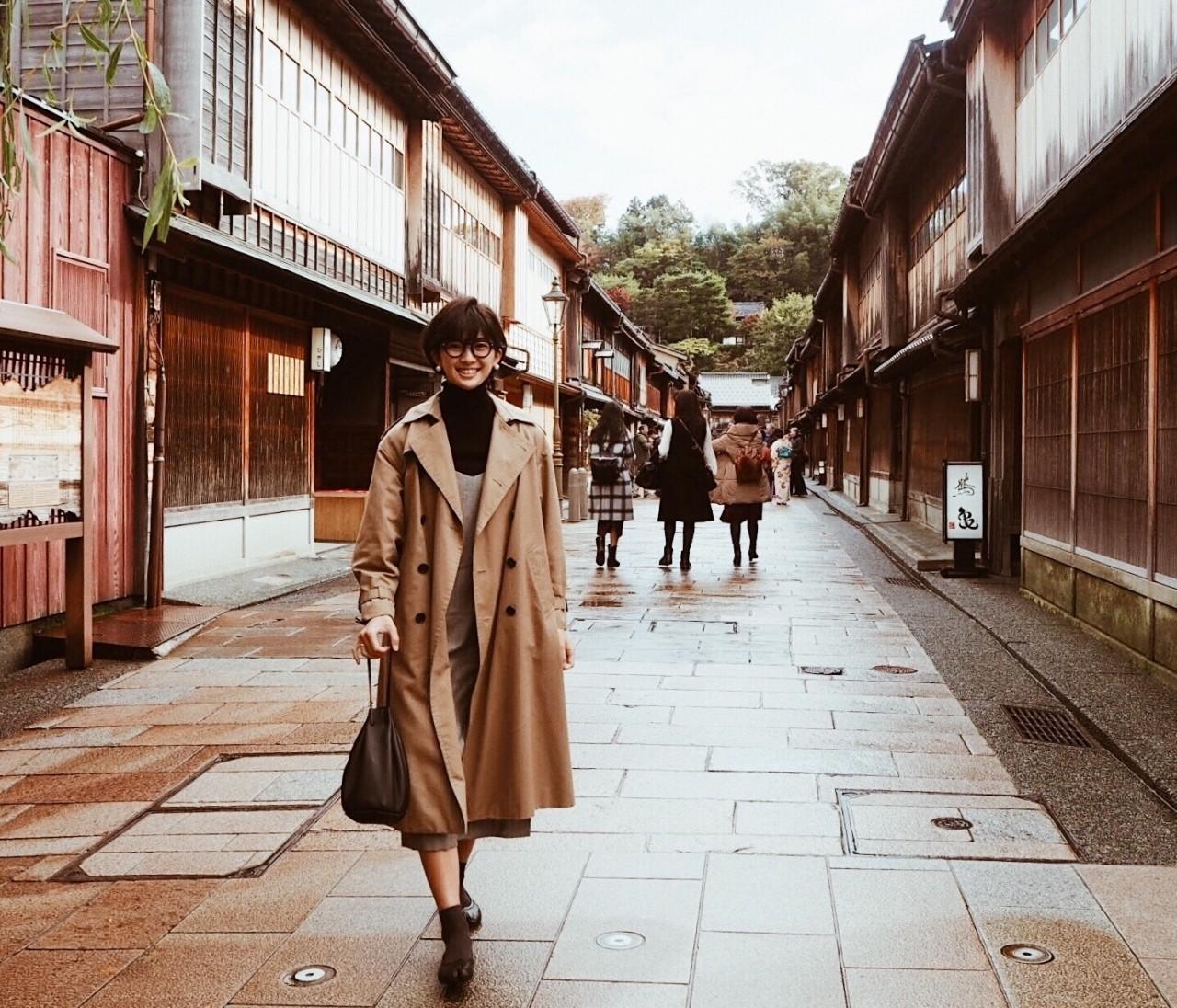 [マニッシュコーデ]×秋の金沢旅行