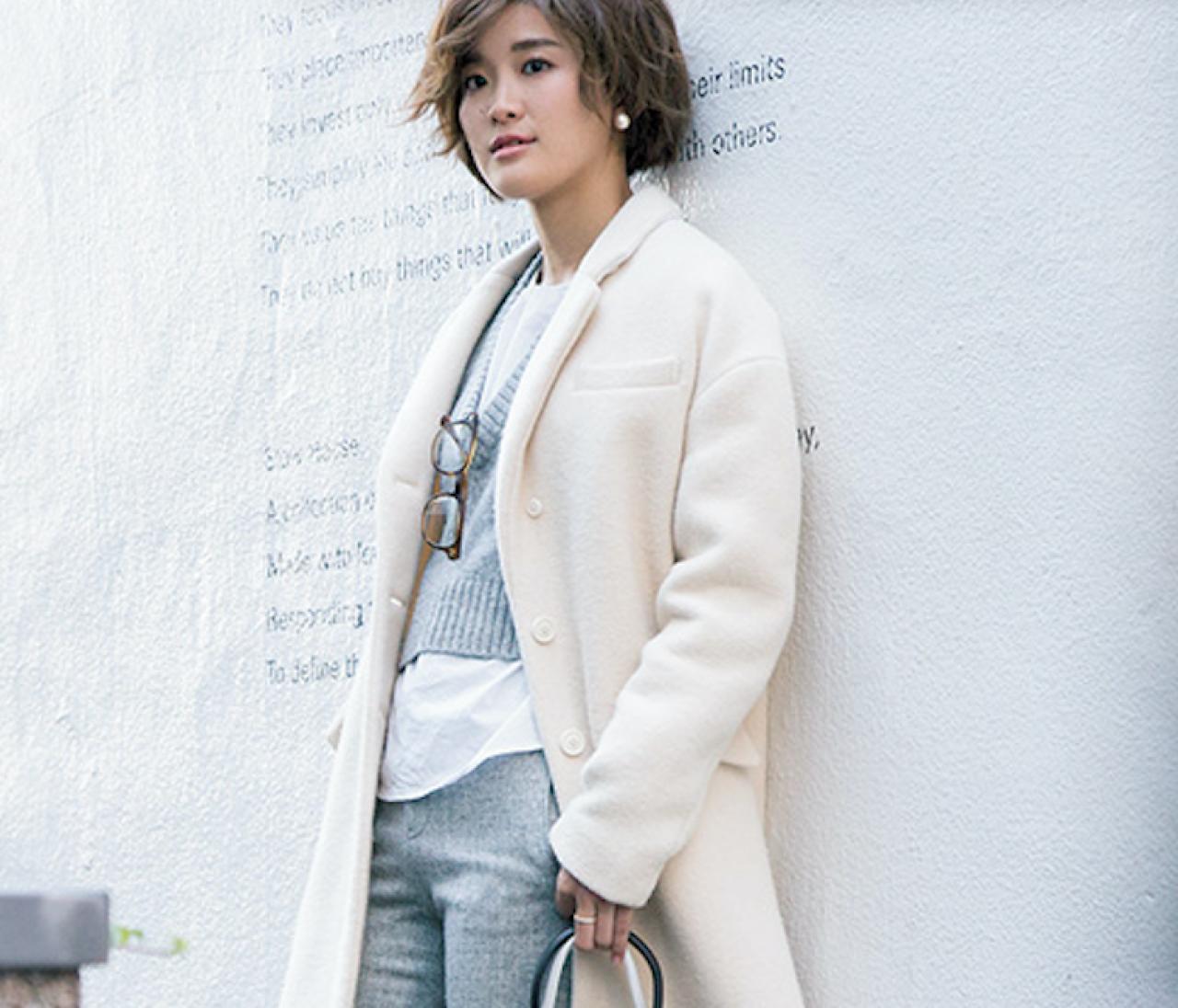 モテ度MAX♡ 冬だからこそ、私たちは白を着る【おしゃれスナップ選手権】