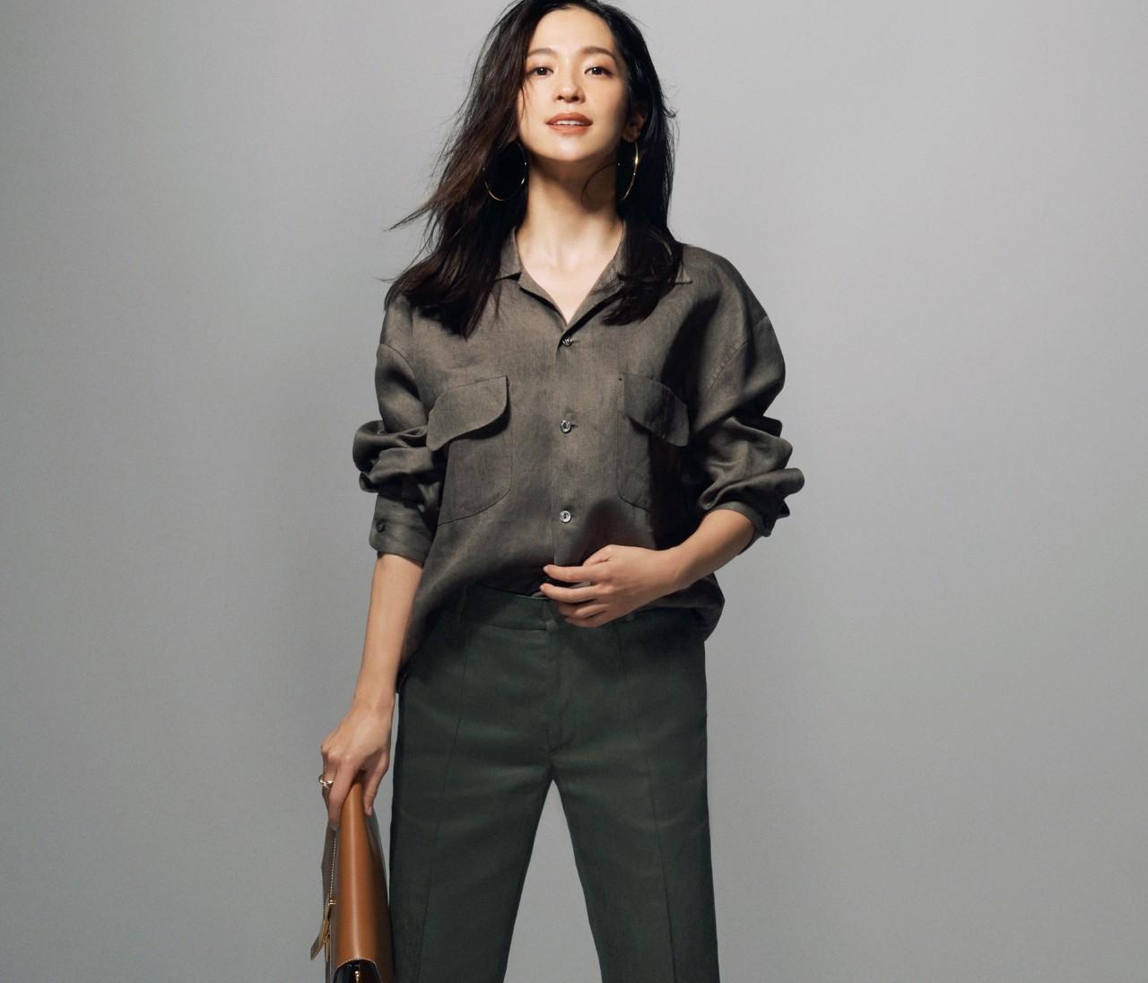 【中村アンのつくり方】春ファッションは「かっこよく・女っぽく」がルール