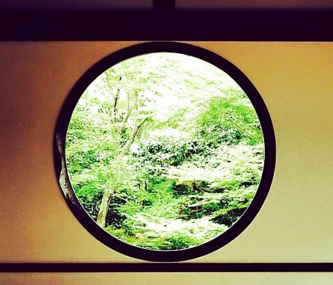 源光庵,『悟りの窓』と『迷いの窓』