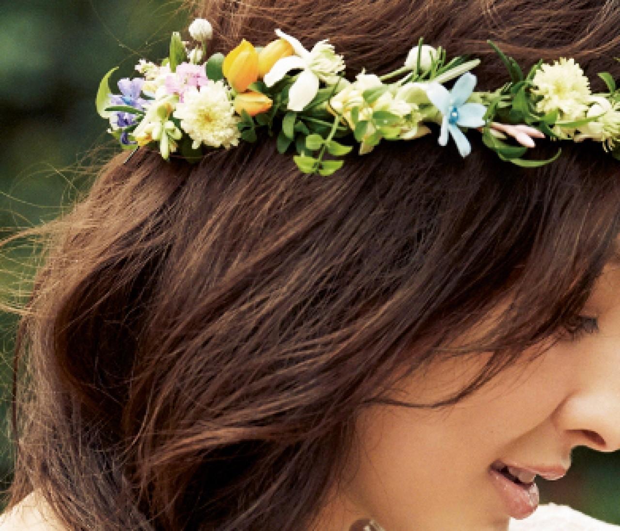 おしゃれ花嫁の「花小物」選びは「ナチュラル」がキーワード