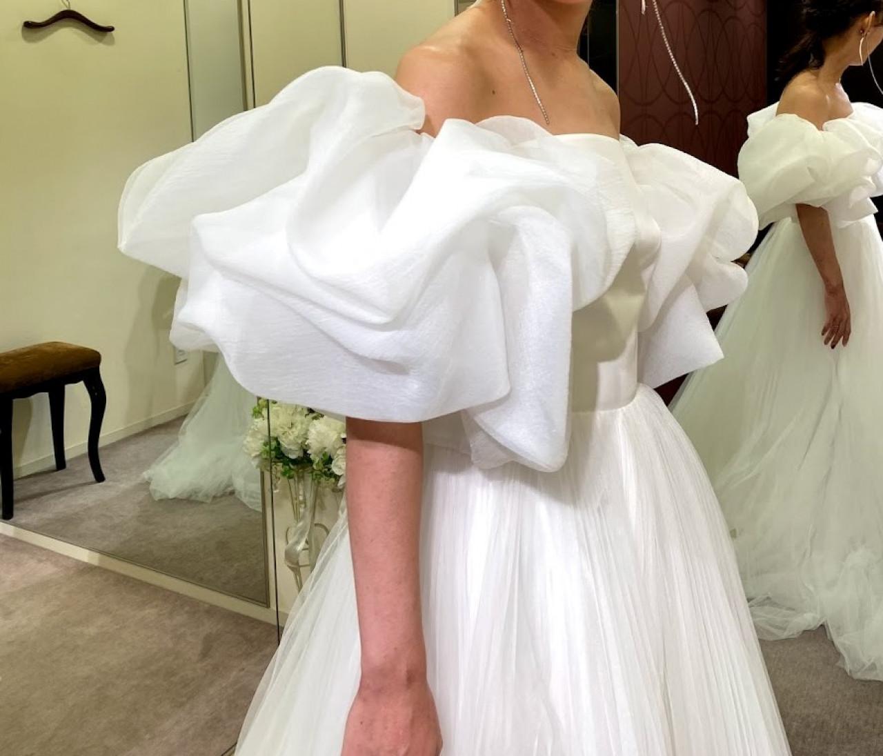 【Wedding】ドレス試着すべて見せます♡/後半①