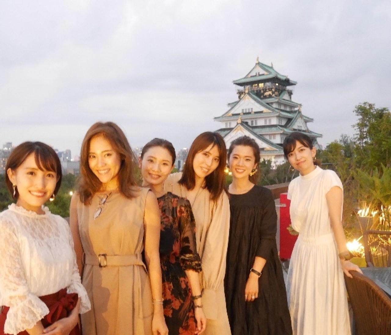 ミライザ大阪城で関西バイラーズ会♡