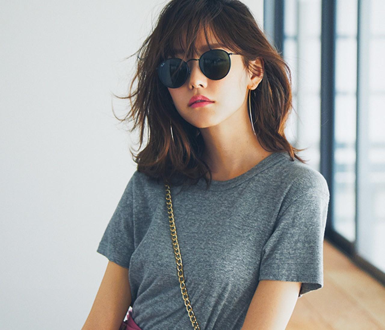 素敵な先輩になれる夏のTシャツコーデ30選【30代ファッションまとめ】