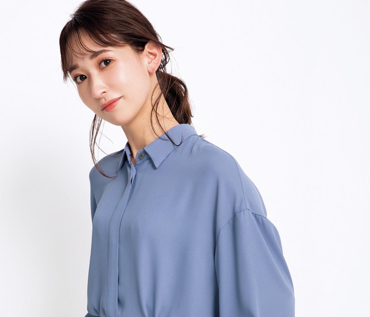【骨格診断・ブラ編】ウェーブタイプに似合うのは?リブニット、Tシャツ、シャツで実験&おすすめカタログも!