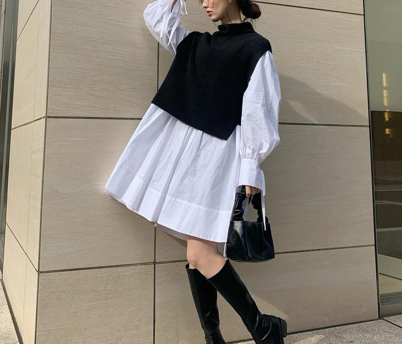 【春の購入品】着映えシャツワンピ