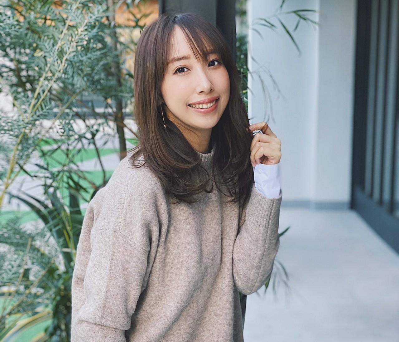 ユニクロニット【双子妹・晴菜ならこう着る!】