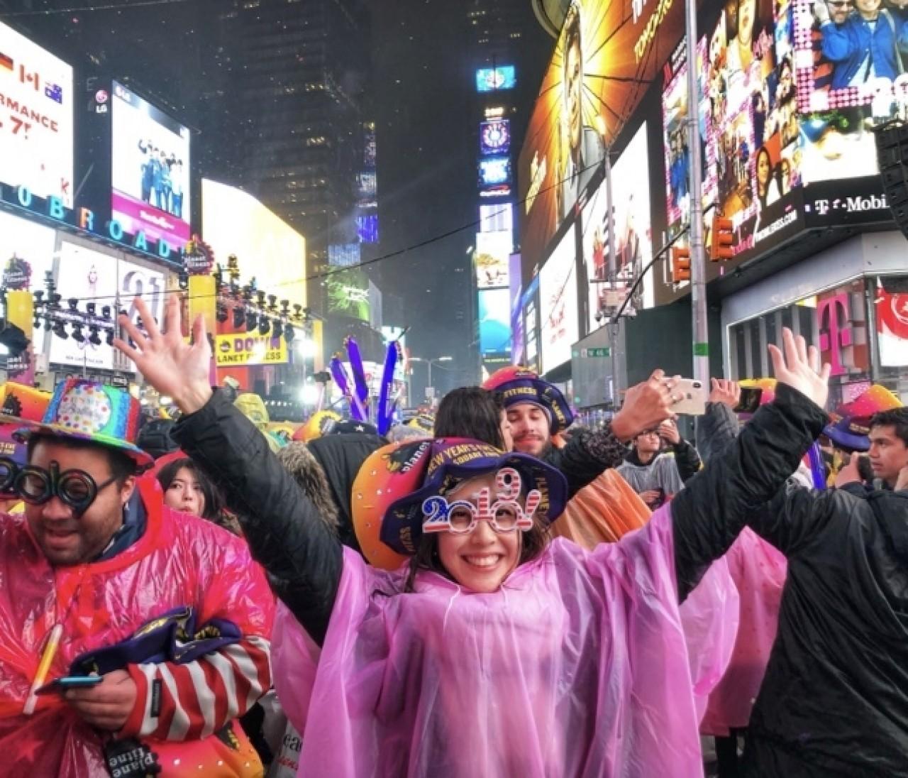 【NYレポ】Times Squareで念願の年越しカウントダウン2019!!!
