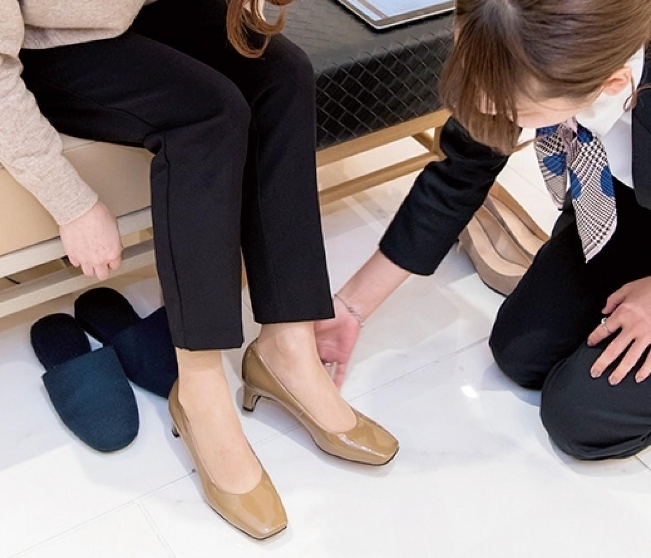 自分の足に合う靴が簡単に選べる「YourFIT365」を体験!